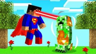 Playing As SUPERMAN In MINECRAFT! (Superhero)