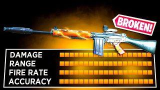 1 SHOT FAL CLASS SETUP in WARZONE! HUGE BUFF! (Modern Warfare Warzone)