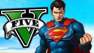 Soy SUPERMAN en GTA 5! Grand Theft Auto V – GTA V Mods